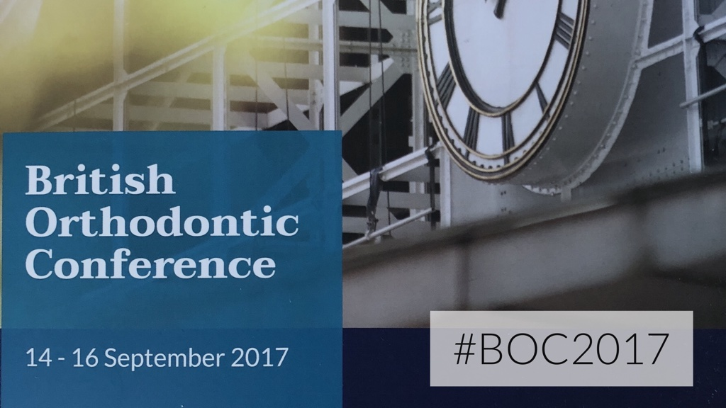 British Orthodontic Conference 2017